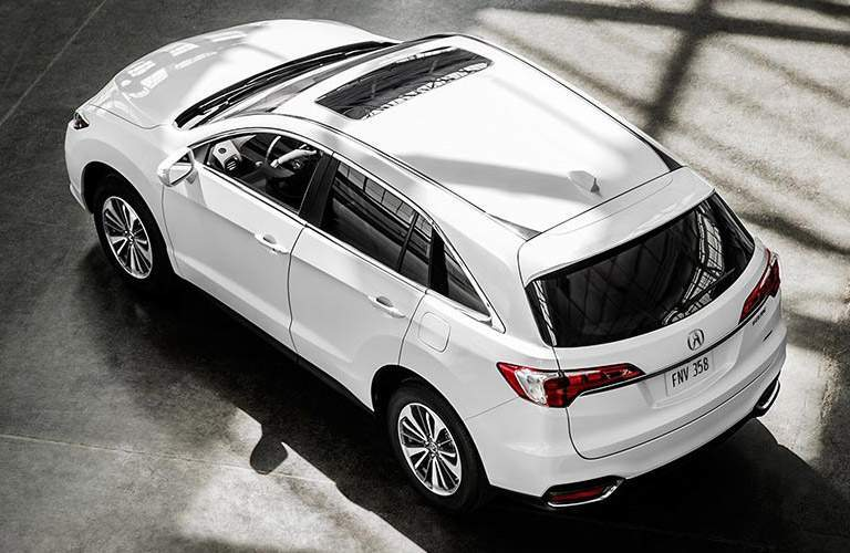 Acura RDX top white