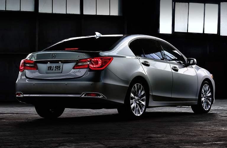Acura RLX silver back