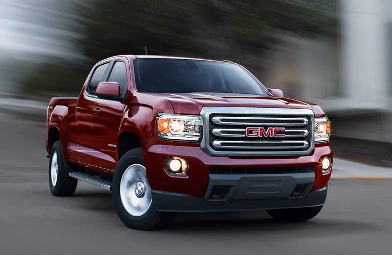 2016 GMC Canyon on the road