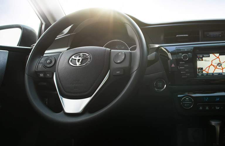 2018 Toyota Corolla steering wheel