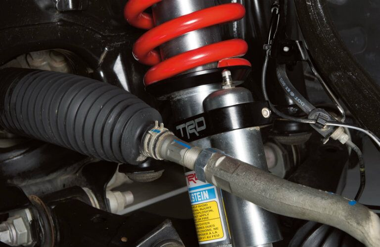 TRD-tuned Bilstein shocks