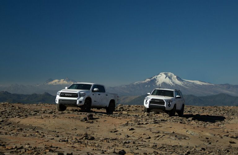 Toyota Tundra and 4Runner TRD Pro models