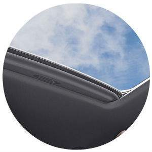 Tacoma moonroof size