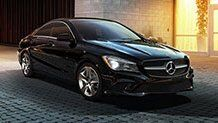 CLA Coupe at Cardenas Metroplex