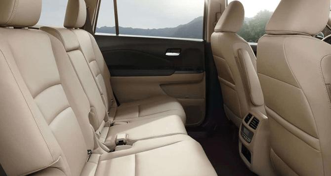 2018 Honda Pilots Seats