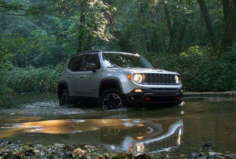 2016 Jeep Renegade Trailhawk tire size