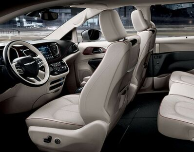 2017 chrysler pacifica interior dashboard seating steering wheels