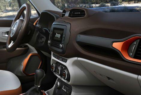 2017 jeep renegade interior dashboard