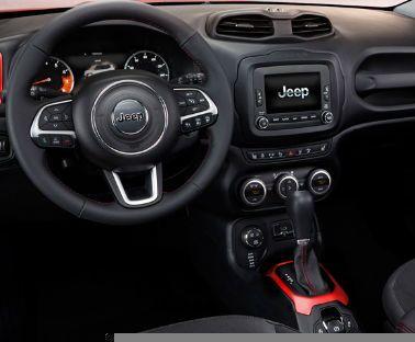 2017 jeep renegade interior dashboard steering wheel