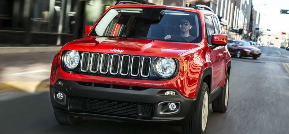 2017 jeep renegade exterior red grille headlights
