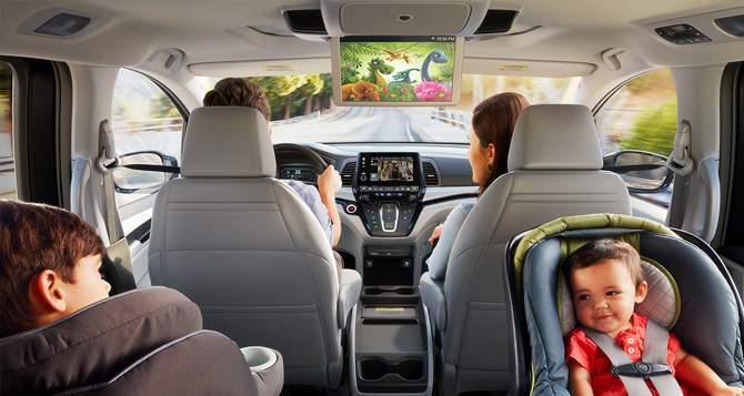 2018 Honda Odyssey Entertainment
