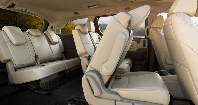2018 Honda Odyssey Seats