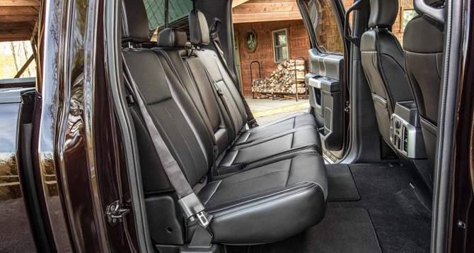 2018 Ford F-150 Seats