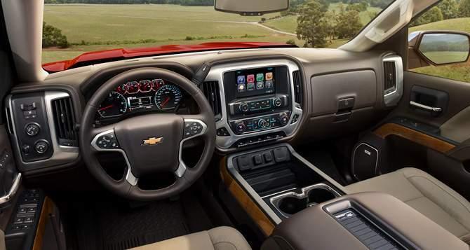 2018 Chevrolet Silverado 1500 Interior