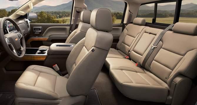 2018 Chevrolet Silverado 1500 Seats