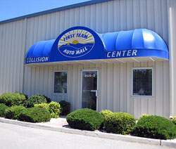 Collision Center front