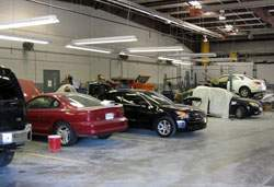 Collision Center waiting room