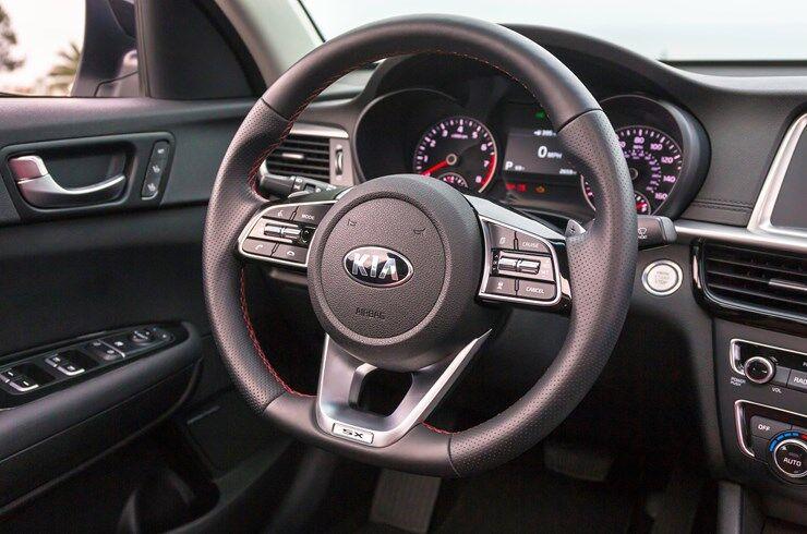 2019 Kia Optima Interior Driver Dash