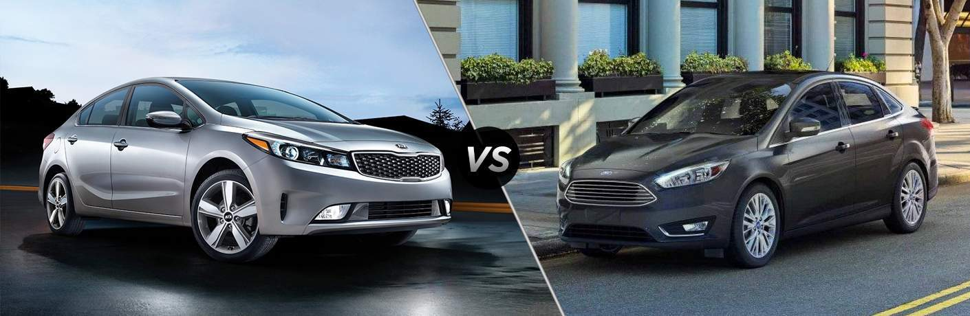 2018 Kia Forte vs 2018 Ford Focus