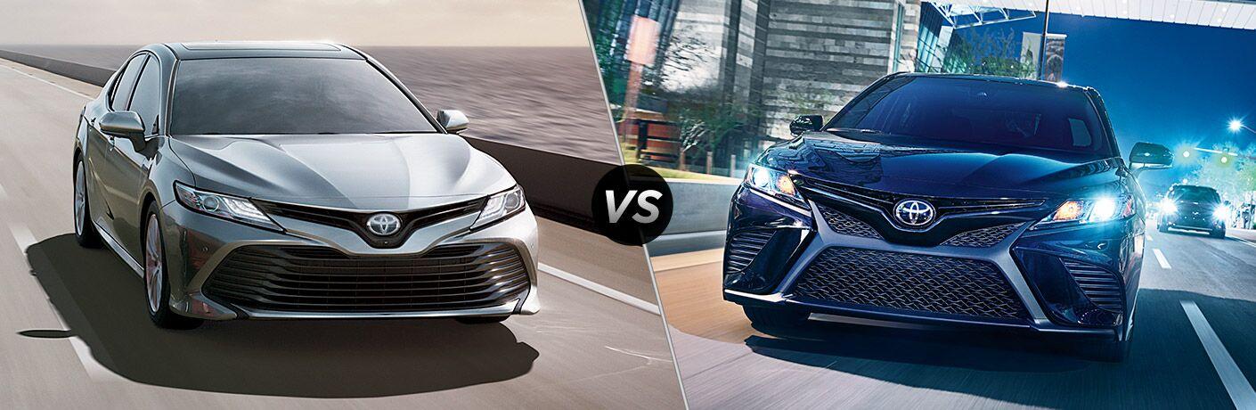 2019 Toyota Camry vs 2018 Toyota Camry