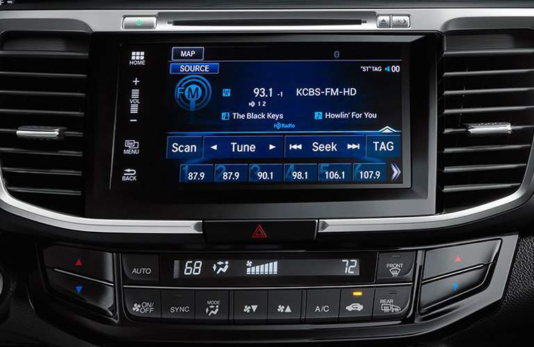 2017 accord infotainment screen