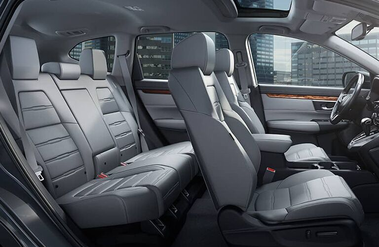 seating space in the Honda CR-V