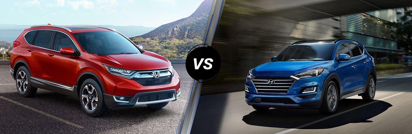 2019 Honda CR-V vs 2019 Hyundai Tucson