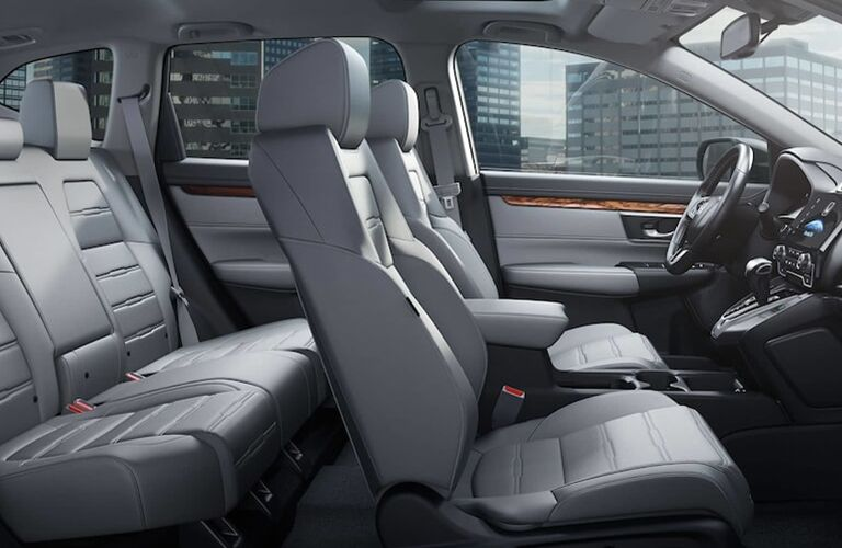 front and rear seat space in the 2019 cr-v