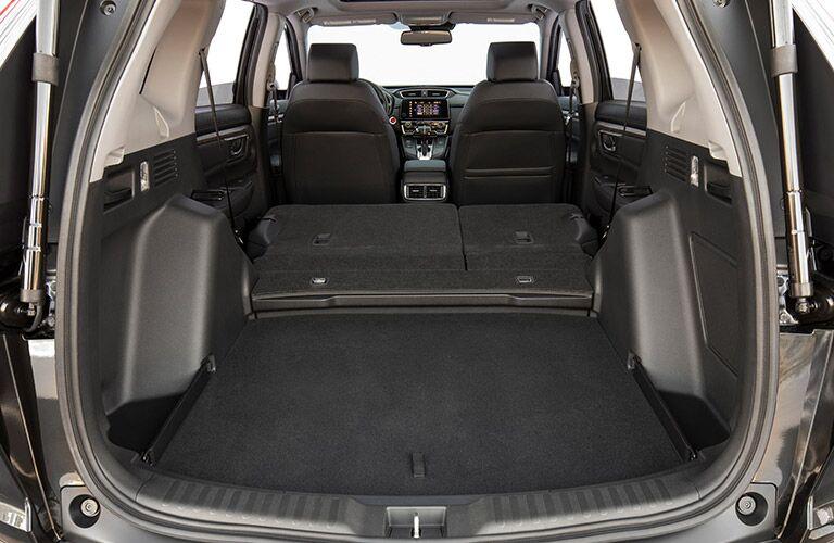 rear cargo space in the 2019 honda cr-v