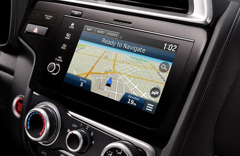 honda fit navigation screen