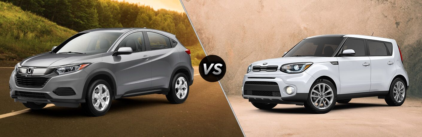 2019 Honda HR-V vs 2019 Kia Soul