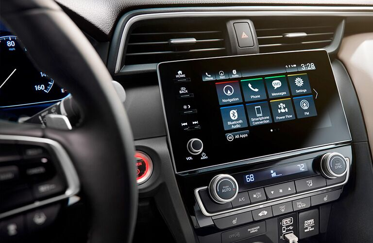 2019 honda insight touch screen