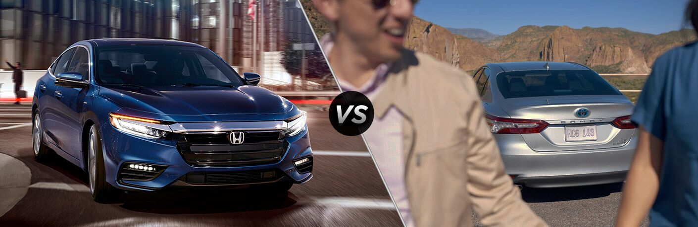 2019 Honda Insight vs 2019 Toyota Camry Hybrid