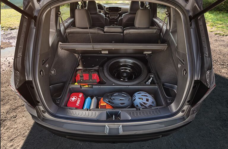 honda passport underfloor storage compartment