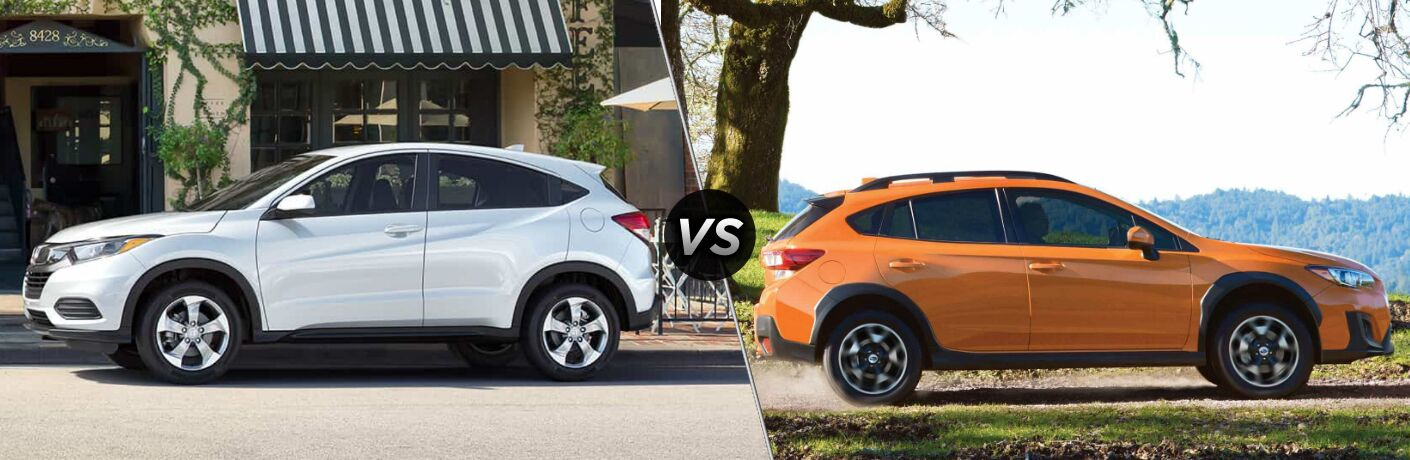 2019 Honda HR-V vs 2019 Subaru Crosstrek
