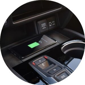 wireless phone charger in honda passport