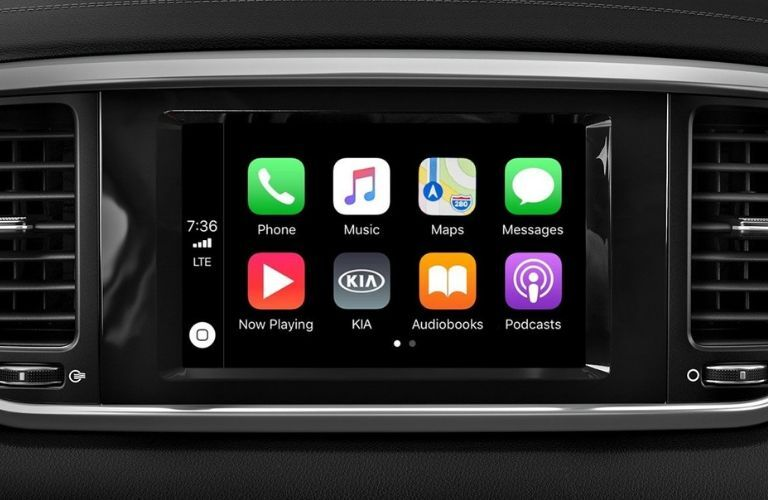 2020 Kia Sportage Apple CarPlay