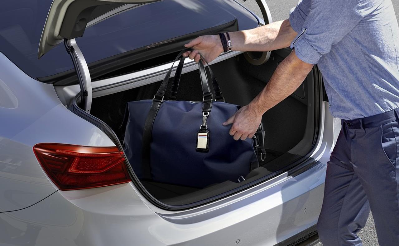Hands Free Storage in the 2019 Kia Forte