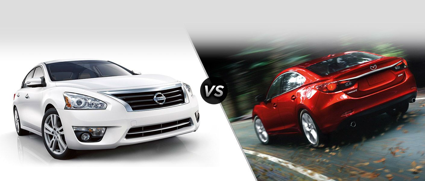 2015 nissan altima vs 2015 mazda 6. Black Bedroom Furniture Sets. Home Design Ideas
