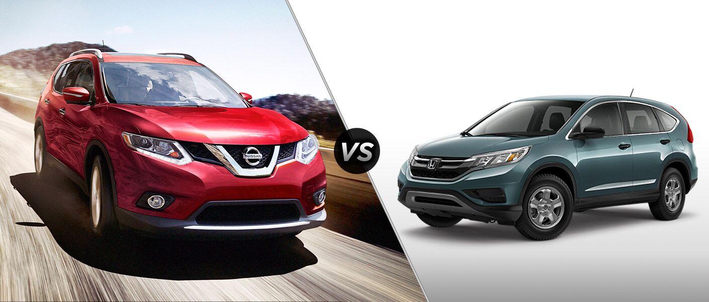 Rogue Vs Crv >> 2015 Nissan Rogue Vs 2015 Honda Cr V