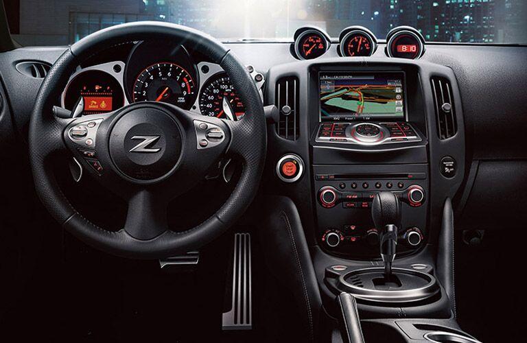 2016 Nissan 370Z gauges cockpit bose