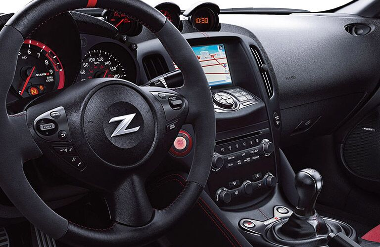 2017 Nissan 370Z features and options