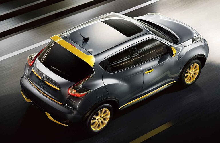2017 Nissan Juke Dayton OH Exterior Gray Yellow Color Studio Paint Options