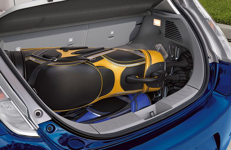 2017 Nissan LEAF cargo space
