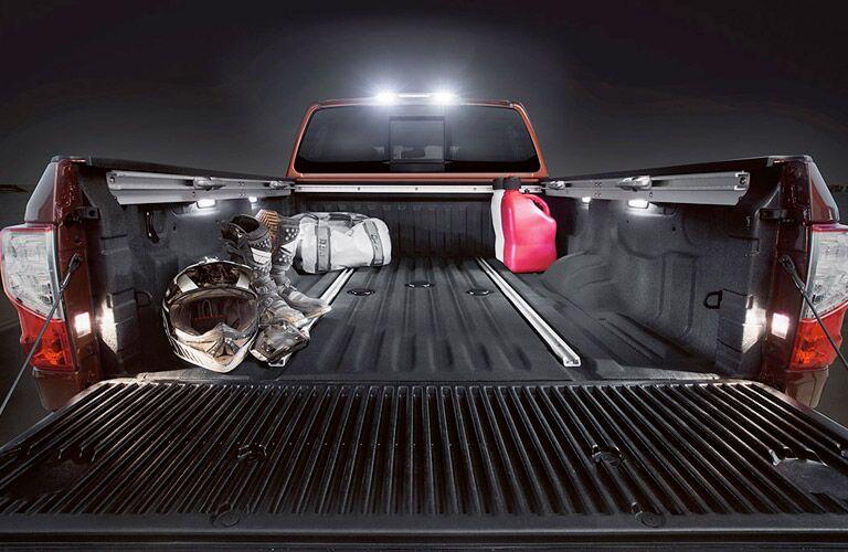 2017 Nissan Titan XD cargo bed