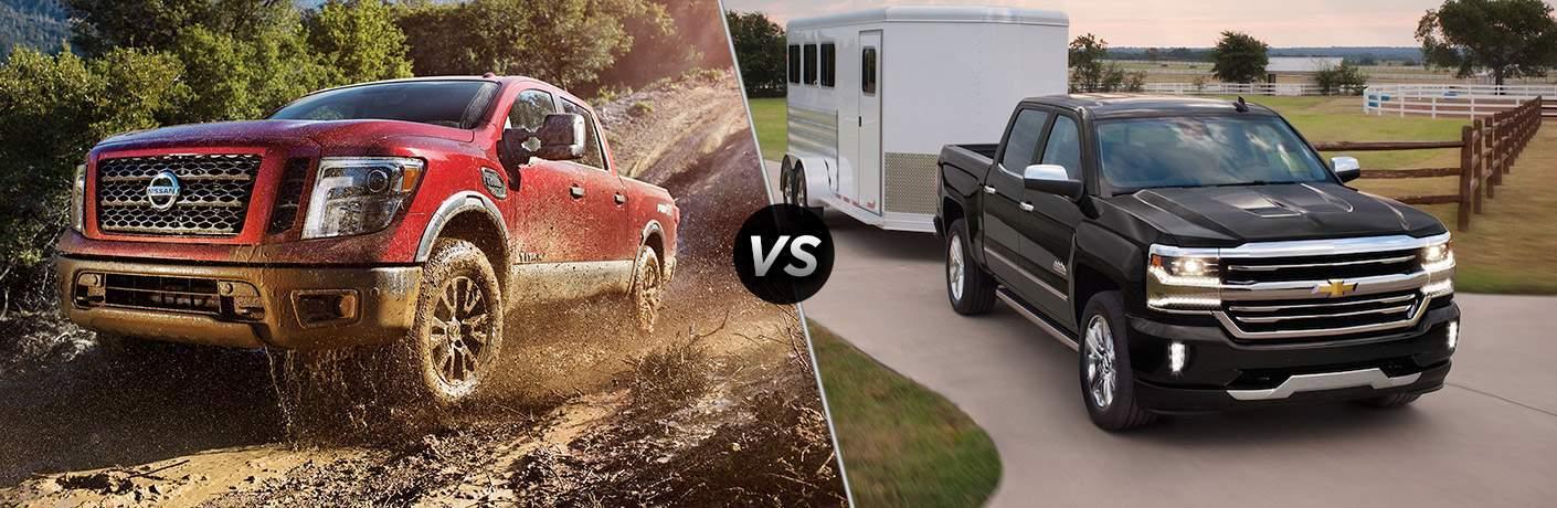 2017 Nissan Titan vs 2017 Chevy Silverado