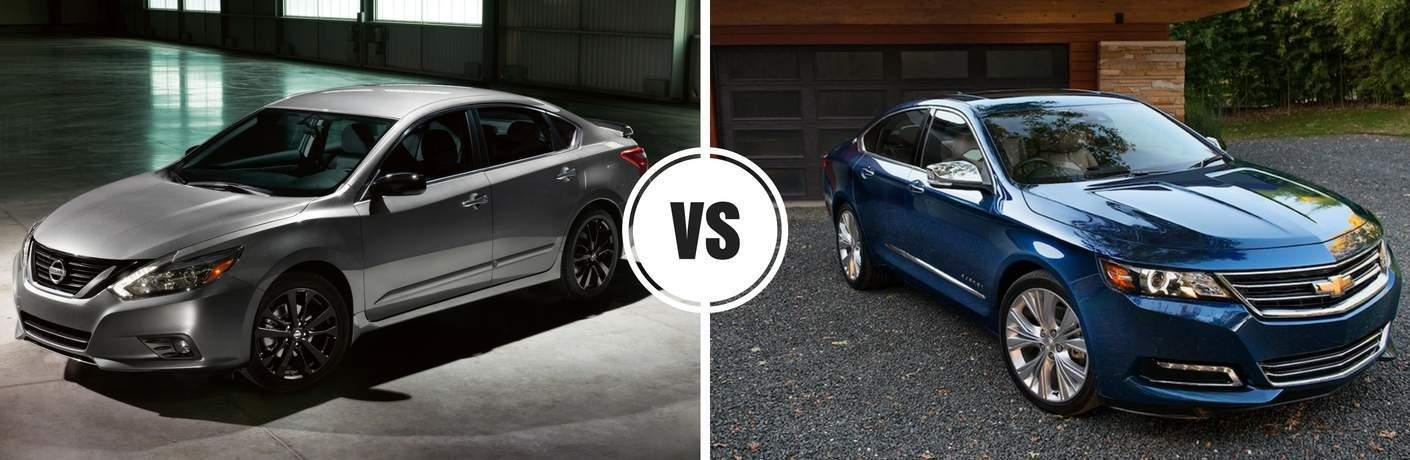 2017 Nissan Altima vs 2017 Chevy Impala