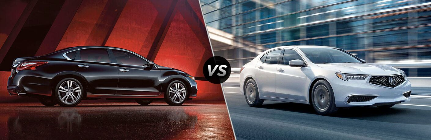 2018 Nissan Altima vs 2018 Acura TLX