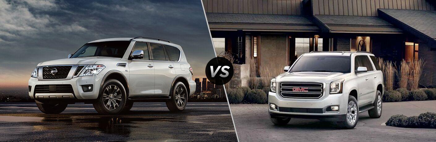 2018 Nissan Armada vs 2018 GMC Yukon
