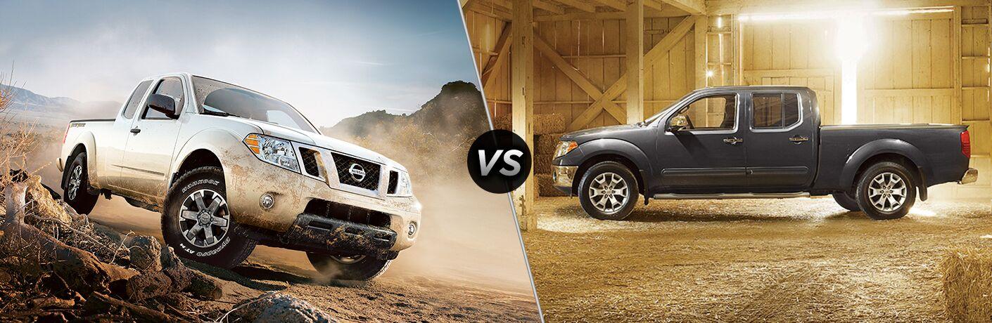 2018 Nissan Frontier vs 2017 Nissan Frontier